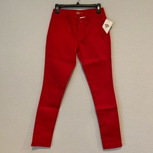 NWT Dickies Juniors' 4-Pocket Super Skinny Pants